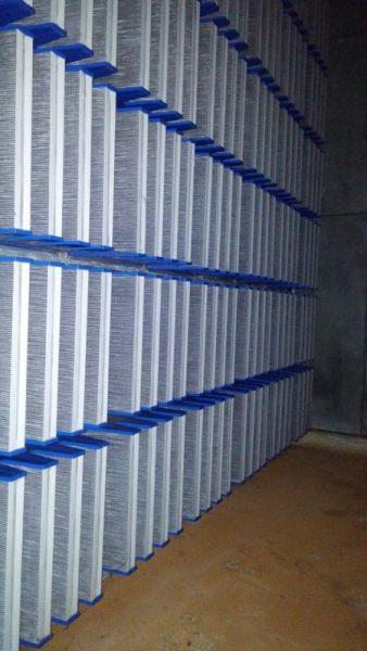 Viledon Filter installation