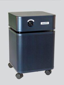 Austin Air HealthMate medical grade HEPA air cleaner blue
