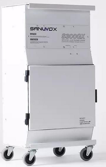 Sanuvox UV HEPA air sanitizer